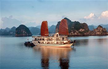 Du thuyền Hạ Long Apricot Premium Cruise