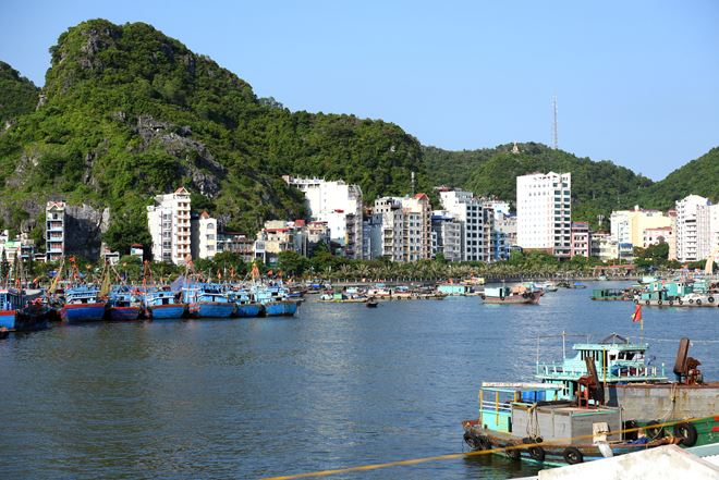 Tour Du lịch Cát Bà 2 ngày 1 đêm(thăm vịnh Lan Hạ )