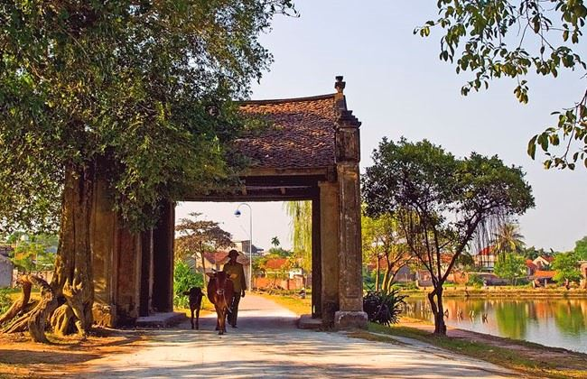 Tour làng cổ Đường Lâm